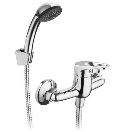 ECOKRAN AZURYT fali zuhany csaptelep zuhanyszettel