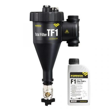 Fernox Total filter TF1 28 mm - rendszerbe építhető kombinált mágneses szűrő