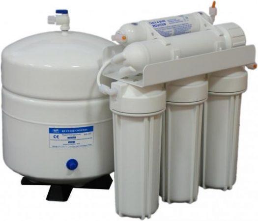 Blue clear RO 75  fordított ozmózisos  háztartási víztisztító berendezés csapteleppel